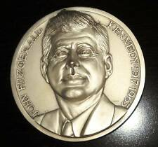 VINTAGE John F. Kennedy Commemorative Medallion by Dottore Affer. Fratelli 1965
