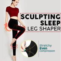 Women Sculpting Sleep Leg Shaper Legging High Waist Body Shaper Slimming Pants