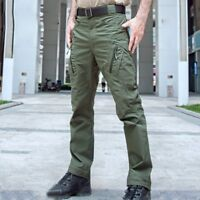 New Tactical Army Men's Slim Train Overalls Casual Trousers Outdoor Hiking Pants