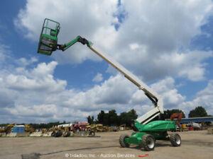 2012 JLG M600JP 60' 4WD Hybrid Articulating Boom Lift Electric Diesel bidadoo