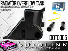 OVERFLOW TANK TO SUIT HOLDEN COMMODORE VZ 3.6L LE0 LY7 08/2004 - 07/2006