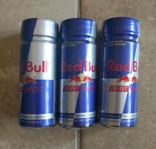 Rare Discontinued  Red Bull Energy Shot collector 3 bottles expired 2010