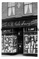 pt9679 - Doncaster , G Salisbury Shop 34 Silver Street , Yorkshire - photograph