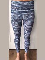 Lululemon Size 8 Wunder Under HR 7/8 Tight Blue Green ADFT NWT Luxtreme Run Yoga