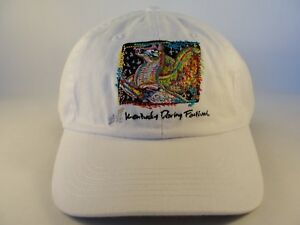 Kentucky Derby Festival 2010 Strapback Hat Cap White