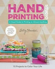 HAND-PRINTING STUDIO - OLMSTED, BETSY - NEW PAPERBACK BOOK