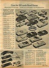 1965 ADVERT HO Scale Aurora Thunderjet 500 Slot Car Cox Strombecker Revell