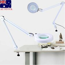 Magnifying Lamp 5 Inch SMD 5 Diopter Magnifier Desk Light White 5X