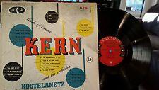 MUSIC OF JEROME KERN-ANDRE KOSTELANETZ-COLUMBIA 6 EYE