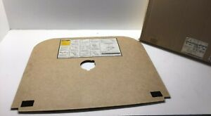 1996-2002 Saturn S Series OEM Trunk Spare Tire Wheel Cover Panel GM 21035818