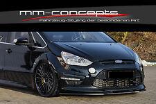 CUP Spoilerlippe Ford S-Max WA6 Titanium + S Frontspoiler Spoilerschwert Lippe