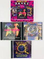 World Of Dance 3 CD Set The 80's New Wave The 90's Jones Gap ABC Tears Snap