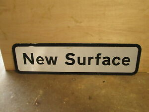 New surface road sign traffic sign.street sign.