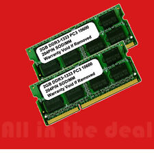4GB KIT 2 x 2GB DDR3 SODIMM PC3-10600 1333MHz 1333 204-pin Laptop Ram Memory