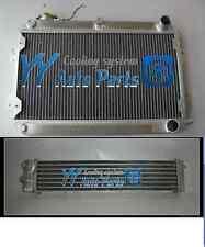 3 ROW MAZDA RX7 S1 S2 S3 SERIES 1 2 3 RX-7 ALUMINUM RADIATOR+ALUMINUM OIL COOLER