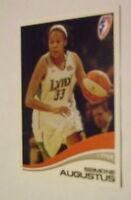 RARE MINT PROMO CARD WNBA 2007 P1 SEIMONE AUGUSTUS