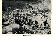 1915 Italienkrieg * Patrouille am Isonzo *  WW1