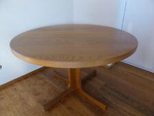 Tisch: Wohnzimmer- und Esstisch von rund 120cm bis oval ausziehbar auf 220cm