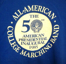 ALL-AMERICAN COLLEGE MARCHING BAND sweatshirt 1985 med Ronald Reagan hoodie