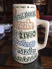 Vintage Mug With Multi Language Toasts