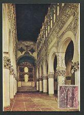 SPAIN MK 1965 TOLEDO ST. MARIA CHURCH KIRCHE CARTE MAXIMUM CARD MC CM d3981