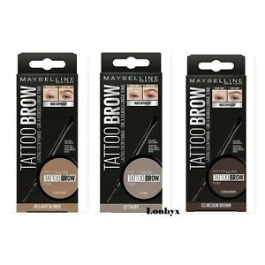 MAYBELLINE Tattoo Brow Lasting Color Tint Pomade - CHOOSE SHADE - NEW Boxed