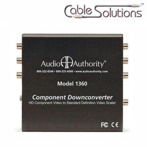 Audio Authority 1360 Component to S-Video Converter