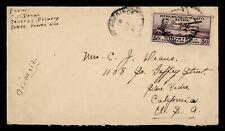 DR WHO 1931 HAITI PORT AU PRINCE AIRMAIL TO USA  g18437