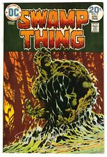 SWAMP THING #9 APRIL 1974 VF 8.0 DC COMICS BERNIE WRIGHTSON SIGNED ON COVER COA
