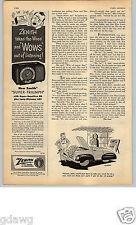 1951 PAPER AD Zenith Super-Triumph Radio AM-FM Wavemagnet Plastic Cabinet