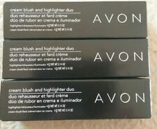 Avon Cream Blush & Highlighter Duo 3Pk set