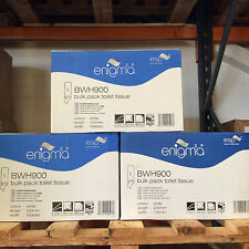2 x Bulk Pack 2PLY Toilet Tissue 9000 Sheets - 2 BOXES - (18000 SHEETS)