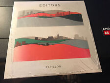 "Editors ""Papillon"" IMPORT cd SEALED"