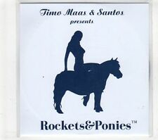 (GT420) Jimo Maas & Santos, Rockets & Ponies - DJ CD