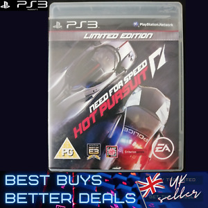 Need For Speed Hot Pursuit Limited Edition PS3 Game TESTED VGC PAL