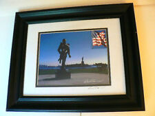 """SOLDIER HERO"" DIGITAL ART PHOTOGRAPHY, SIGNED AND FRAMED"