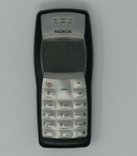 Old Silver Nokia 1100 Mobile Phone With Case Untested