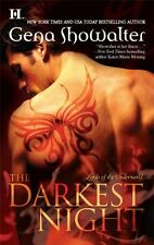 The Darkest Night (Lords of the Underworld) by Gena Showalter