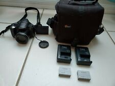 Canon Power Shot SX40 HS Used Battery Charger Camera Bag