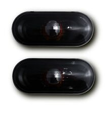 SEAT LEON MK2 1P (05-09) SIDE INDICATOR REPEATERS - CRYSTAL BLACK