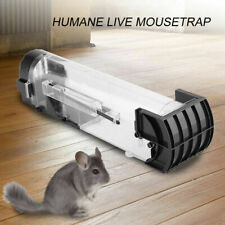 Humane Rat Trap Cage Animal Rodent Mice Mouse Bait Catcher Hunting Pest Control