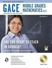 *Missing CD* Georgia GACE Middle Grades Math (013) Test Preparation
