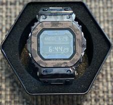 Custom Stainless Steel G-Shock King GX-56 in Laser Engraved Urban Camo