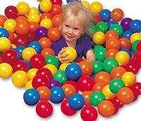 Intex Ball Toyz 100  Fun Ballz PVC Ball Pit Balls New Phalate Free ,GREAT GIFT