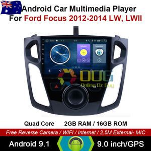 """9"""" Android 9.1 Quad Core Car Non DVD GPS For Ford Focus 2012-2014 LW, LWII"""