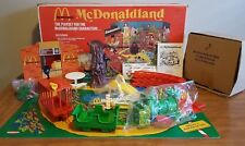 1976 MCDONALDLAND TRAIN PLAYSET BRAND NEW MINT NEVER ASSEMBLED MIOB REMCO AFA IT