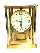 Vintage Seiko Model Qw106G Brass Mantle/Shelf Quartz Clock - Perfect Working Co