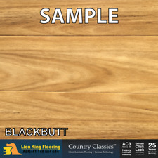 12mm Blackbutt Laminate Flooring/ Floating Timber Floorboard Click Lock- Sample