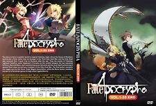 Fate/Apocrypha (Chapter 1 - 25 End) ~ 2-DVD SET ~ English Subtitle ~ Japan Anime