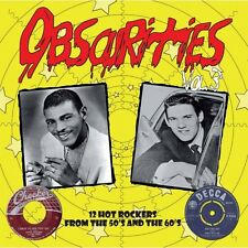 10 inch  25 CM Obscurities Vol.3 -12 Hot Rockers from the 50's and the 60's NEW